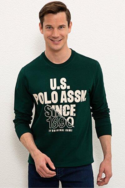 Yesıl Erkek Sweatshirt