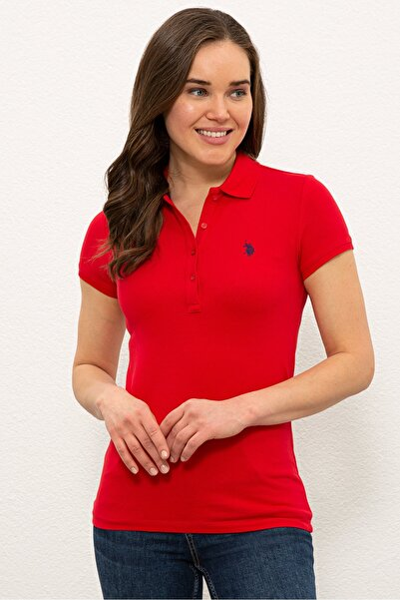 Kırmızı Kadın T-Shirt