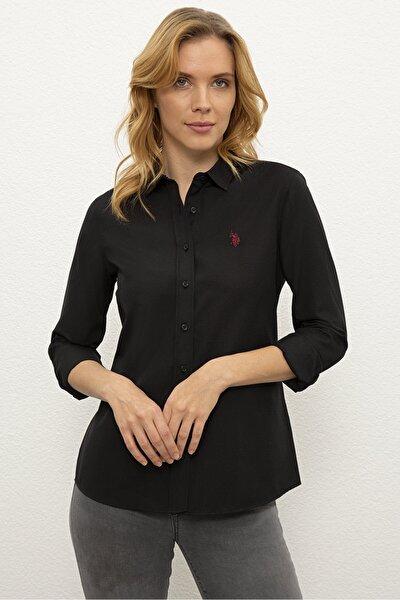 Sıyah Kadın Gömlek