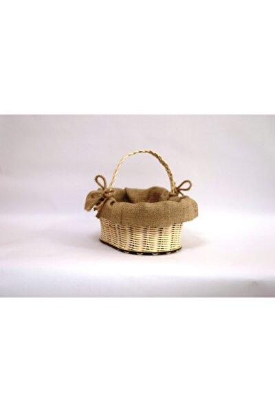 Rattan Hasır Ekmeklik (kumaşlı)