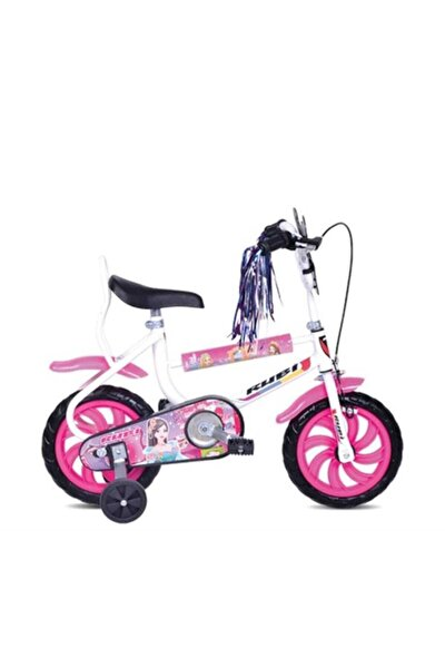 Klass 12 Jant Dolgu Teker Çocuk Bisiklet Pembe /