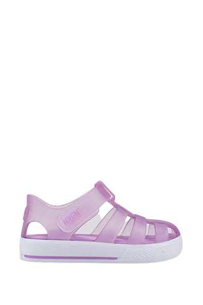 Lila Çocuk Sandalet