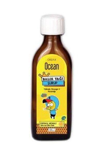 Ocean Omega 3 Portakallı Balık Yağı Şurubu Kral Şakir 150 Ml