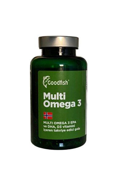 Multi Omega 3, 120 Kapsül, E D3 Ve A Vitamini