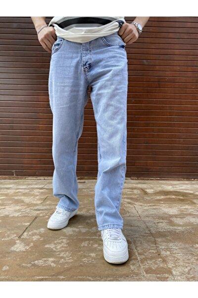 Unisex Mavi Pantolon