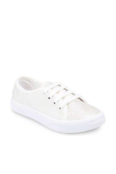 91.509151.F Beyaz Kız Çocuk Sneaker Ayakkabı 100350453
