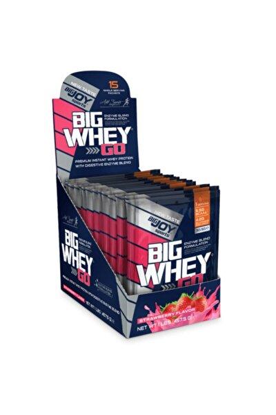 Bigwhey Big Whey 495 G 15 Saşe Protein Tozu Çilek Aromalı