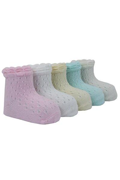 Igloo File 5'li Çift Pikotlu Bebek Çorabı