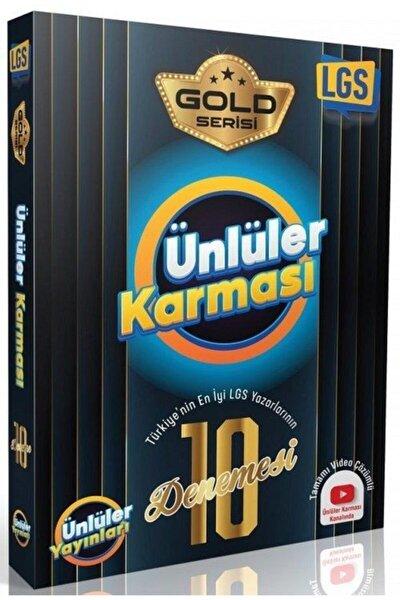 Ünlüler 8. Sınıf Lgs Ünlüler Karması Gold 10 Lu Deneme
