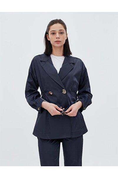 Kadın Lacivert Ceket Ka-b20-13018-11