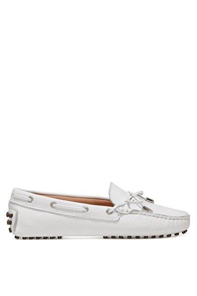 HOLT 1FX Beyaz Kadın Loafer Ayakkabı 101031259