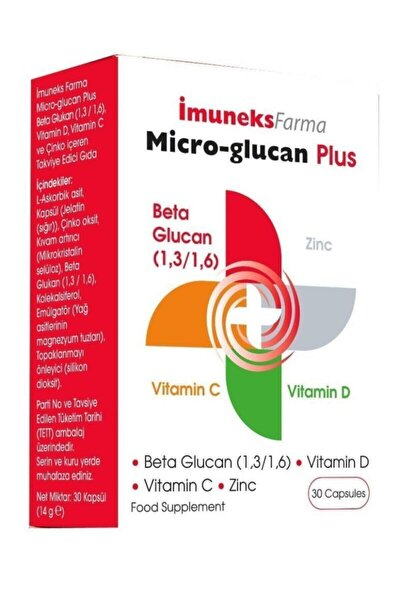 Micro-glucan Plus 30 Kapsül