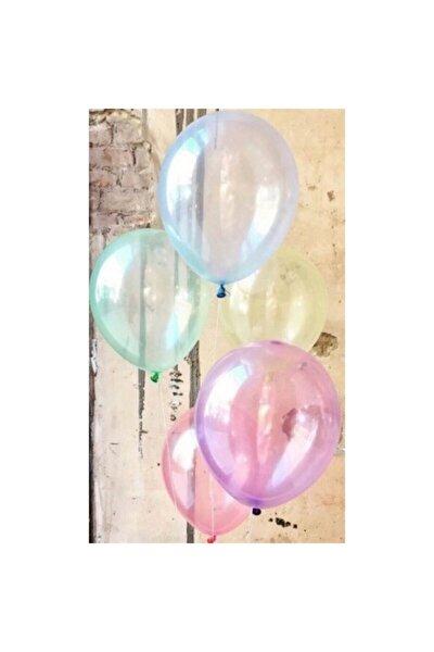 Balon Ekstra Şeffaf Karışık (10 Adet)