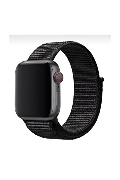 Apple Watch 1-2-3-4-5 Serisi ( 42mm - 44mm ) Uyumlu Spor Loop Kordon