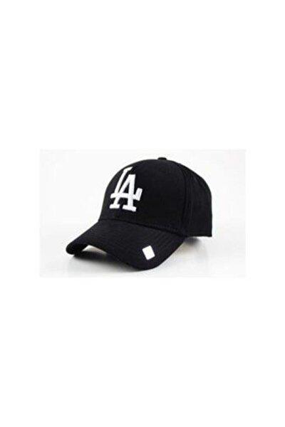 La Los Angeles Şapka Unisex Siyah Şapka