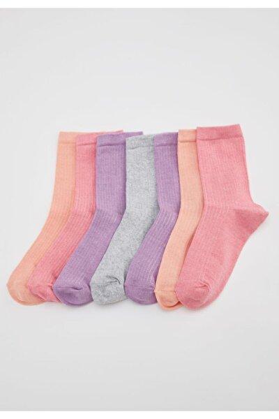 Kadın Karma Soket Çorap 7'li