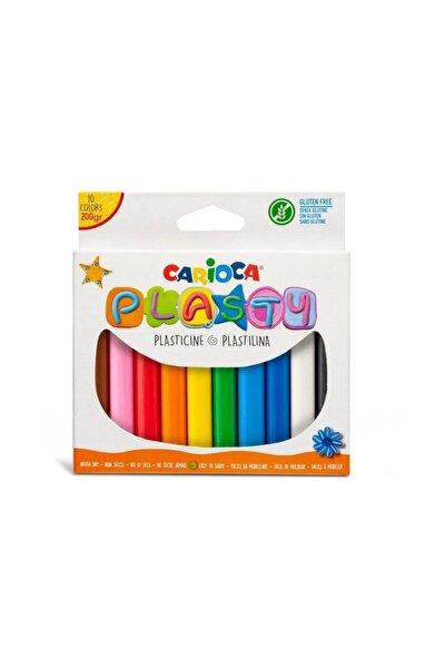 Plasty Kurumayan Oyun Hamuru 10 Renk - 200 gr