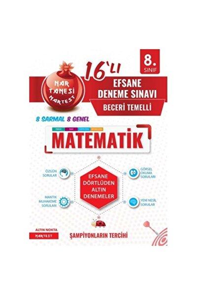 Nartest 8. Sınıf Nar Tanesi Efsane Matematik 16 Deneme
