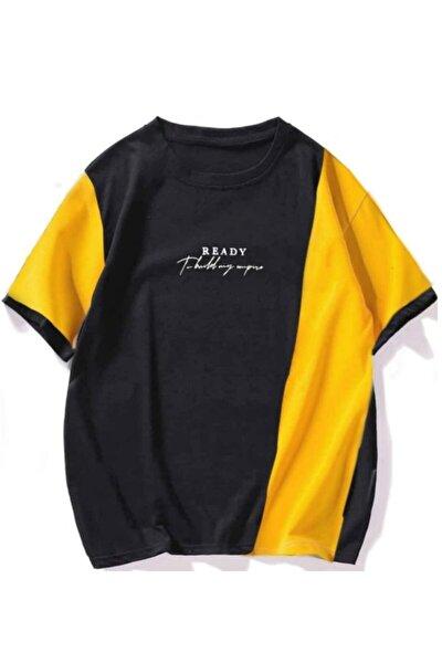 Erkek Kısa Kollu Rahat Kalıp T-shirt