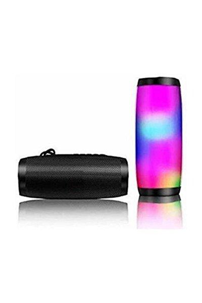Kablosuz Hoparlör Bluetooth Speaker Işıklı Ses Bombası Tg 157 Siyah
