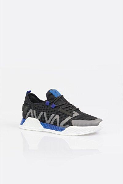 Erkek Saks Yazı Detaylı Spor Ayakkabı A11y8014
