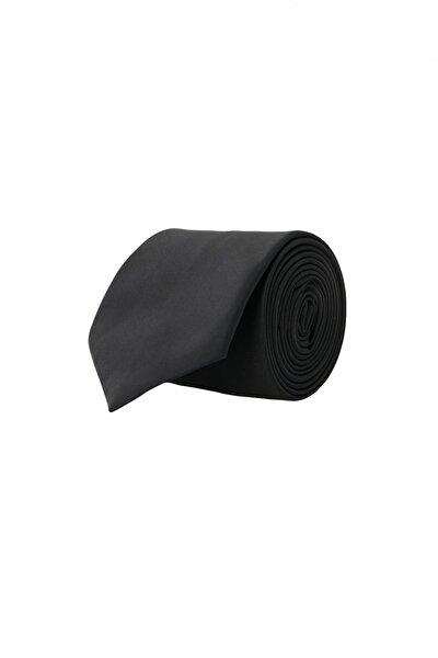 Erkek Siyah Siyah Klasik Su Geçirmez Nano Kravat