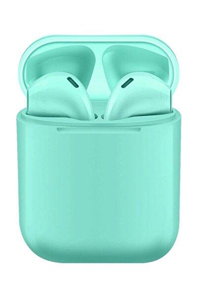 i12 TWS Mavi iPhone Android Universal Bluetooth Kulaklık HD Ses Kalitesi