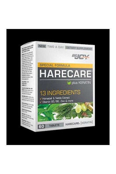 Bigjoy Special Formula Harecare 60 Tablet Skt:02/2021
