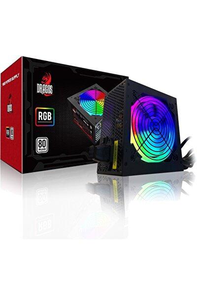 600w Rgb 80+ Plus Gaming Psu Power Supply Güç Kaynağı