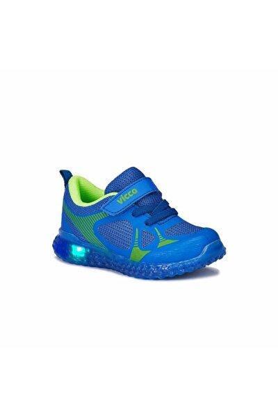 Saks Mavi Anatomik Işıklı Ayakkabı 313.b21y.105