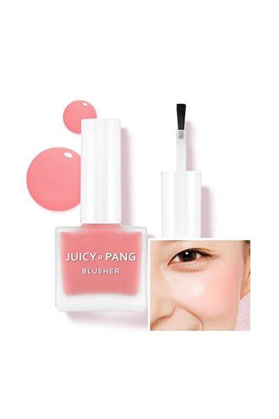 Doğal Görünüm Sunan Nemlendirici Likit Allık 9g. APIEU Juicy-Pang Water Blusher (PK01)