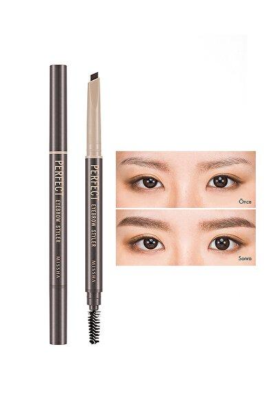 Uzun Süre Kalıcı Asansörlü Kaş Kalemi  Perfect Eyebrow Styler (Dark Brown)