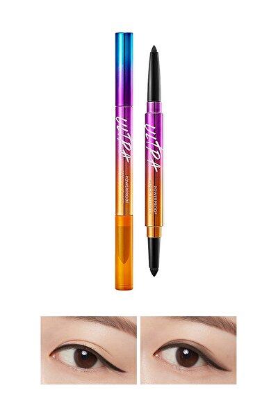 Suya Dayanıklı Kalıcı Jel Göz Kalemi Ultra Powerproof Pencil Eyeliner [Black]