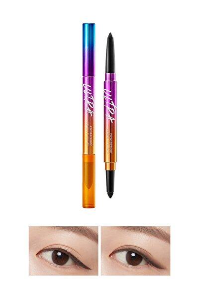 Suya Dayanıklı Kalıcı Jel Göz Kalemi Ultra Powerproof Pencil Eyeliner Ash Brown