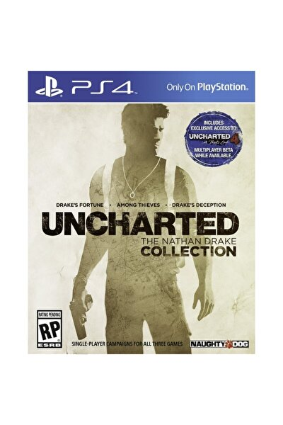 Uncharted : The Nathan Drake Collection  - Türkçe Dublaj Ps4 Oyun