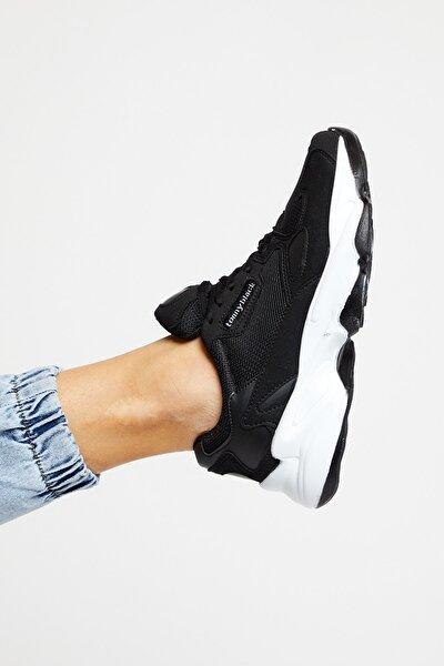 Siyah Beyaz Unisex Sneaker ZHR-0