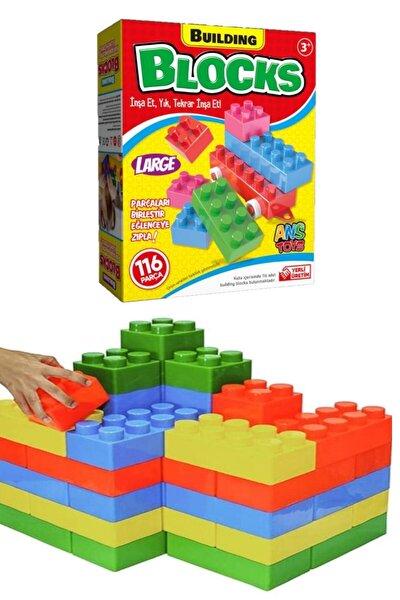 Building Multi Blocks Lego 116 Parça Eğitici Oyuncak