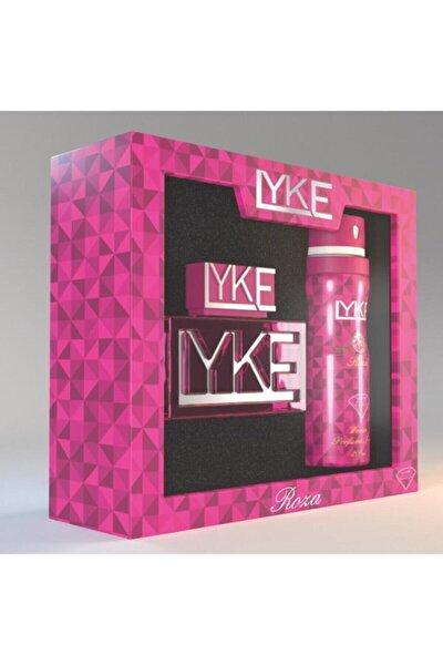 Roza For Women Set Deodorant 200 ml & Edp 85 ml Kadın Parfümü 6293517508563