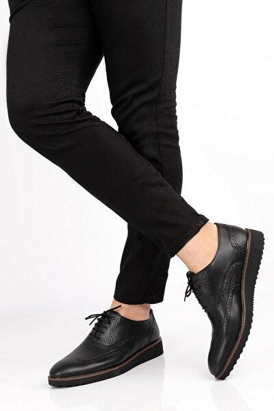 Erkek Yüksek Taban Mat Klasik Ayakkabı