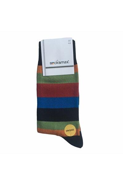 Erkek Desenli Pamuklu Çorap