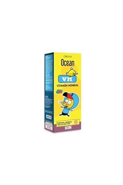 Ocean Vm Vitamin Mineral Şurup Portakal Aromalı 150 ml