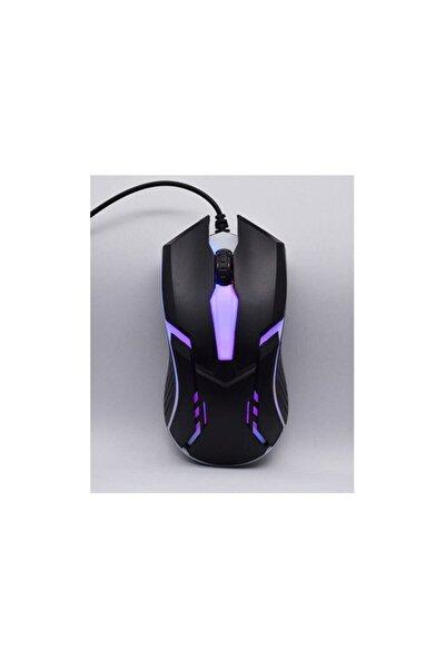 Sm-g52 Usb Siyah Aydınlatmalı Gaming Oyuncu Mouse