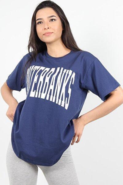 7516 Outerbanks Yazılı O Yaka Tshirt