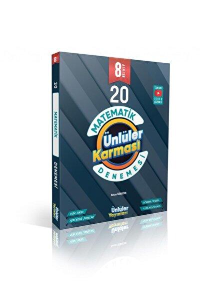 8.sınıf Matematik 20 Deneme Ünlüler Karması