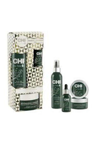 Çay Ağacı Özlü Saç Bakım Yağı - Tea Tree Oil Tranquil Treatment Trio