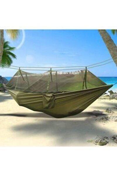 Çantalı Taşınabilir Cibinlikli Sivrisinek Koruyuculu Kamp Hamağı