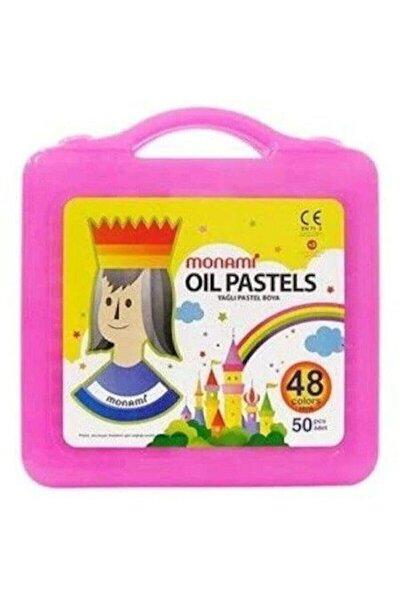 48 Renk 50 Adet Yağlı Pastel Boya