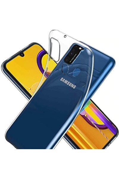 Galaxy M21 Kılıf Şeffaf Yumuşak Silikon Kapak