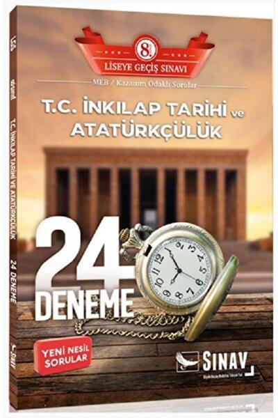 8.sınıf Sınav T.c. Inkılap Tarihi Ve Atatürkçülük 24 Ayar Deneme