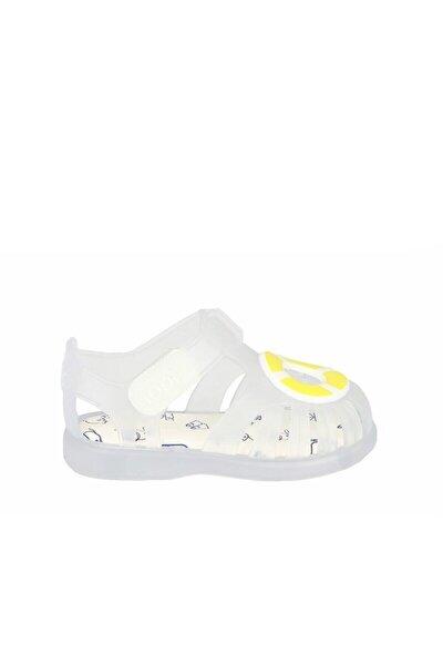 S10249-108 Tobby Velcro Nautıco Sandalet-whıte Yellow